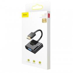 BASEUS CONVERTER CAHUB-AH01 (HD4K TO VGA + MICRO USB + DC 3,5MM) FEKETE