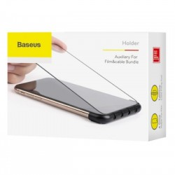 BASEUS CABLE FIXING (IPHONE XR) FEKETE