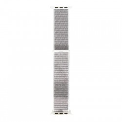 HOCO WB06 TORTUOUS APPLE WATCH TEXTIL SZÍJ (42/44MM) EZÜST-SZÜRKE