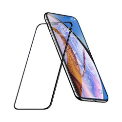 HOCO A16 DUSTPROOF HD ÜVEG FÓLIA IPHONE X / XS / 11 PRO FEKETE