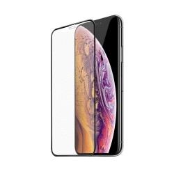 HOCO A14 SUPER SMOOTH FULL SCREEN FROSTED ÜVEG FÓLIA IPHONE XR / 11 6.1 FEKETE