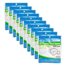 FFP2 Szájmaszk 4 Rétegű Egészségügyi védőmaszk (10 darab)