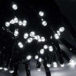 120 ledes karácsonyfa fényfüzér fehér