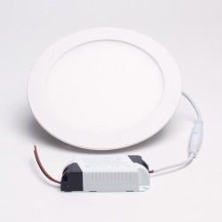 UK Blue 12W 6500K süllyeszthető kerek LED panel fehér