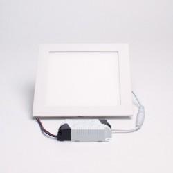UK Blue 12W 6500K süllyeszthető négyzet alakú LED panel fehér