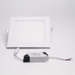 BrightSolutions 12W 3000K süllyeszthető négyzet alakú LED panel 960LM