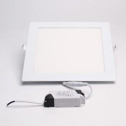 BrightSolutions 18W 3000K süllyeszthető négyzet alakú LED panel 1440LM