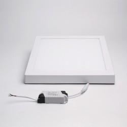 BrightSolutions 24W 4000K külső szerelésű négyzet alakú LED panel 2000LM