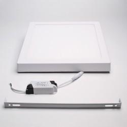 BrightSolutions 24W 3000K külső szerelésű négyzet alakú LED panel 1920LM