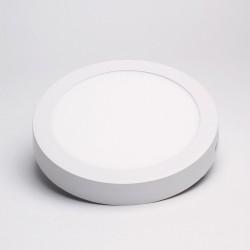BW 18W fehér külső szerelésű kerek LED panel