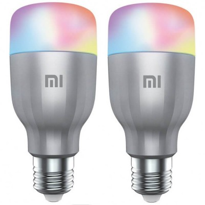 XIAOMI MI LED SMART BULB (WHITE AND COLOR) 2-PACK